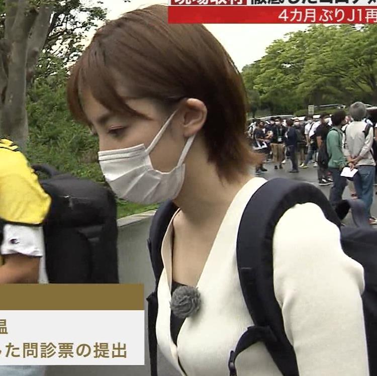 宮司愛海アナ ちっぱいエロキャプ・エロ画像2