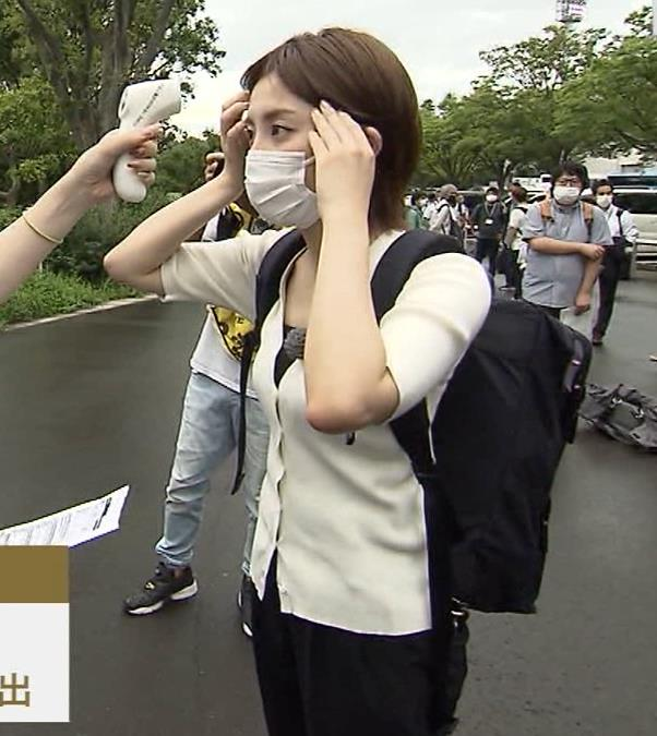 宮司愛海アナ ちっぱいエロキャプ・エロ画像4