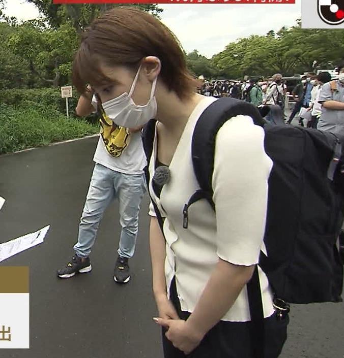 宮司愛海アナ ちっぱいエロキャプ・エロ画像8