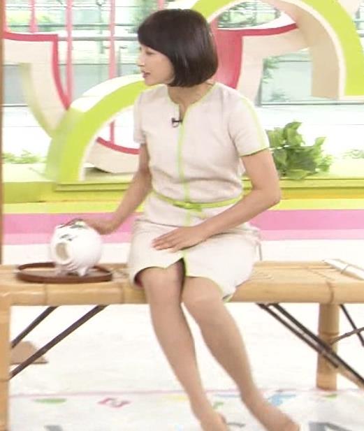 望月理恵 真ん中スリットでパンツ見えそうなミニスカート(ズムサタ)キャプ・エロ画像