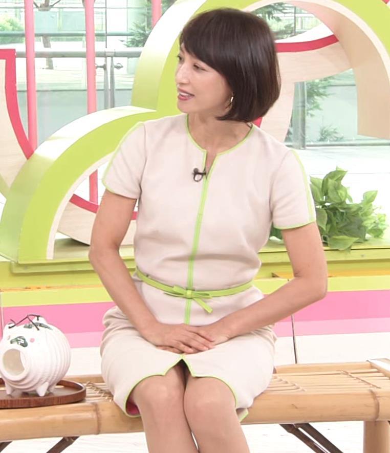 望月理恵 真ん中スリットでパンツ見えそうなミニスカート(ズムサタ)キャプ・エロ画像7