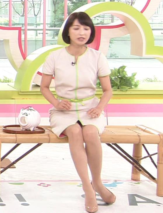 望月理恵 真ん中スリットでパンツ見えそうなミニスカート(ズムサタ)キャプ・エロ画像8