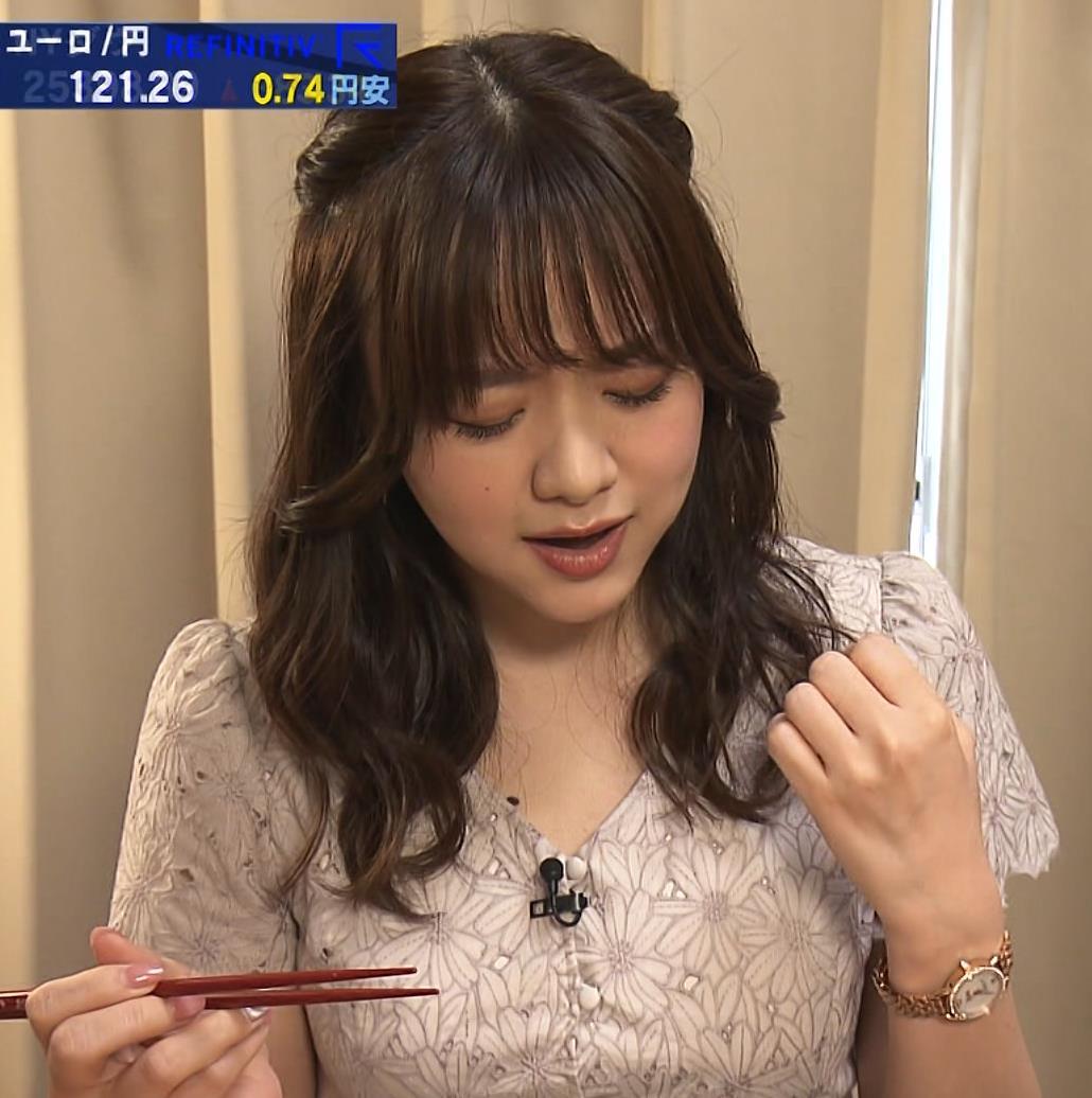 森香澄アナ 顔面どアップキャプ・エロ画像