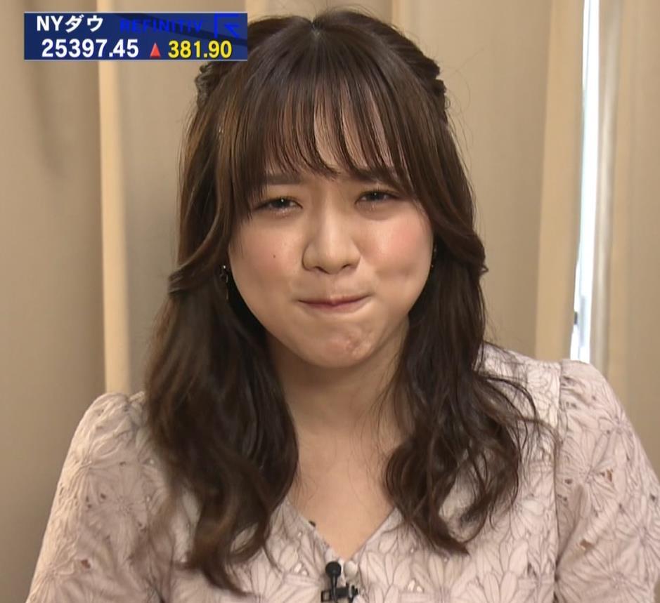 森香澄アナ 顔面どアップキャプ・エロ画像2