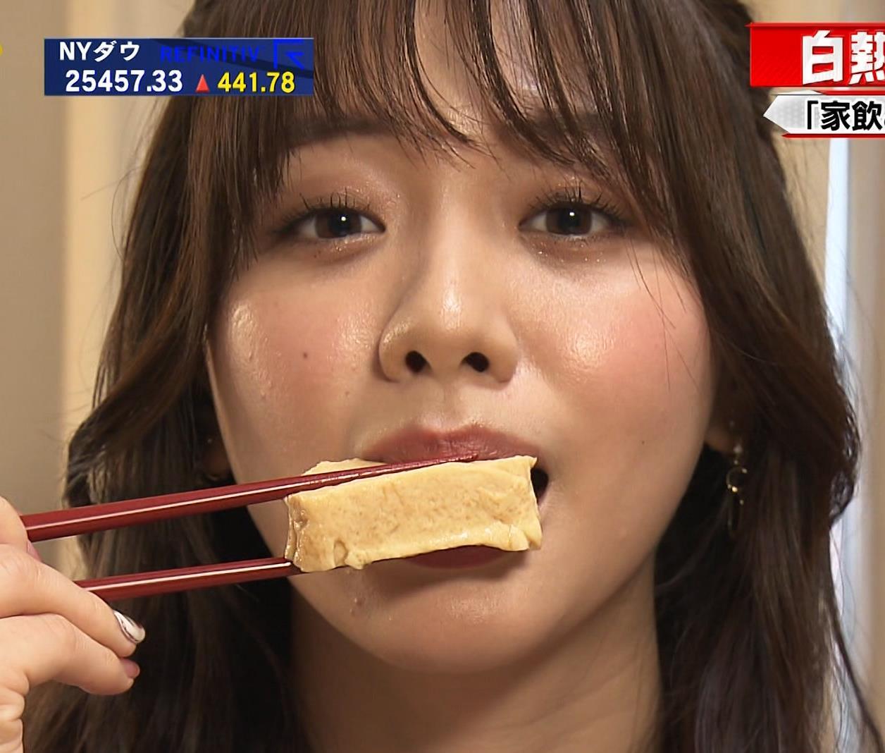 森香澄アナ 顔面どアップキャプ・エロ画像10