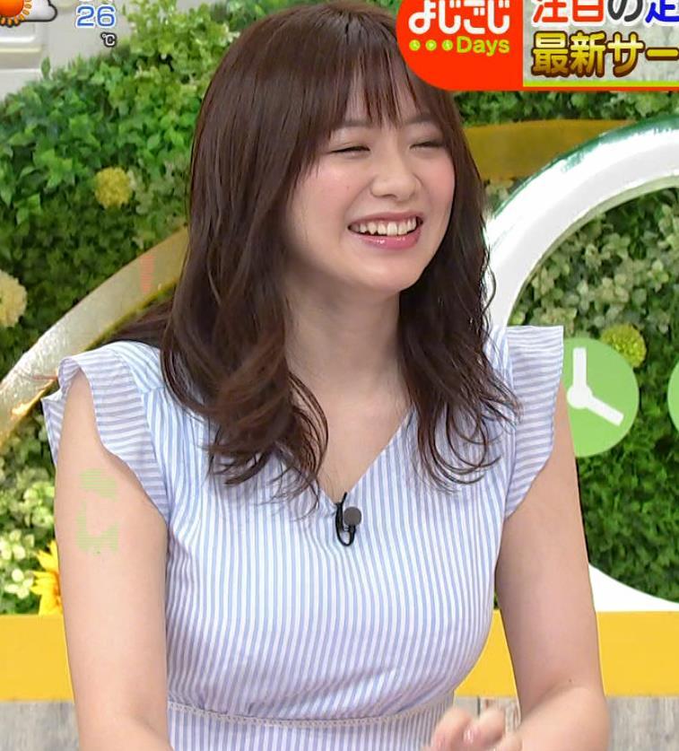 森香澄アナ エロい横乳キャプ・エロ画像2