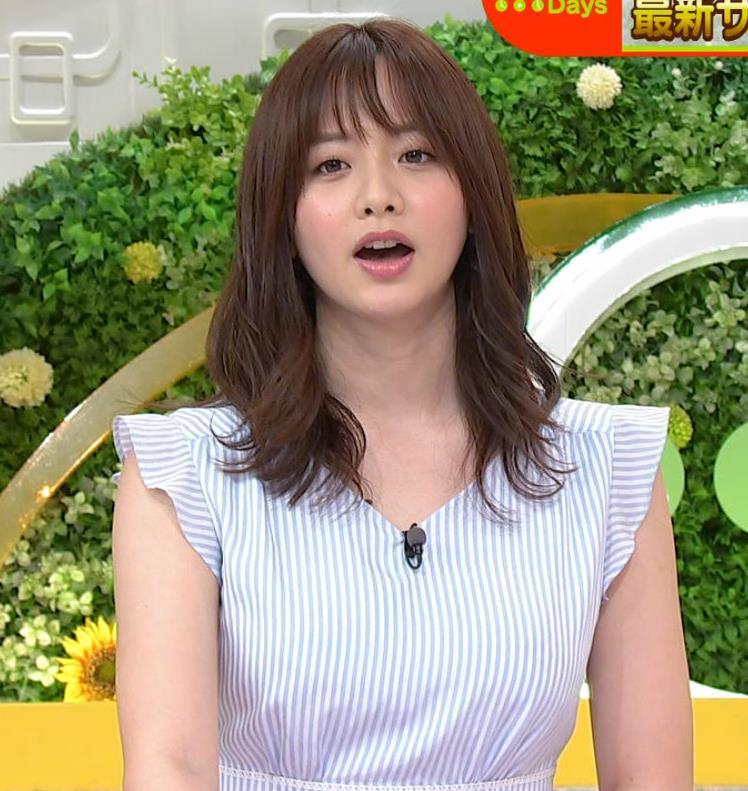 森香澄アナ エロい横乳キャプ・エロ画像6
