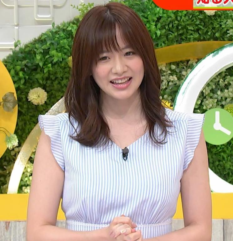 森香澄アナ エロい横乳キャプ・エロ画像8