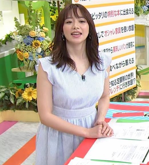 森香澄アナ エロい横乳キャプ・エロ画像9