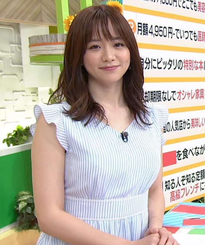 森香澄アナ エロい横乳キャプ・エロ画像10
