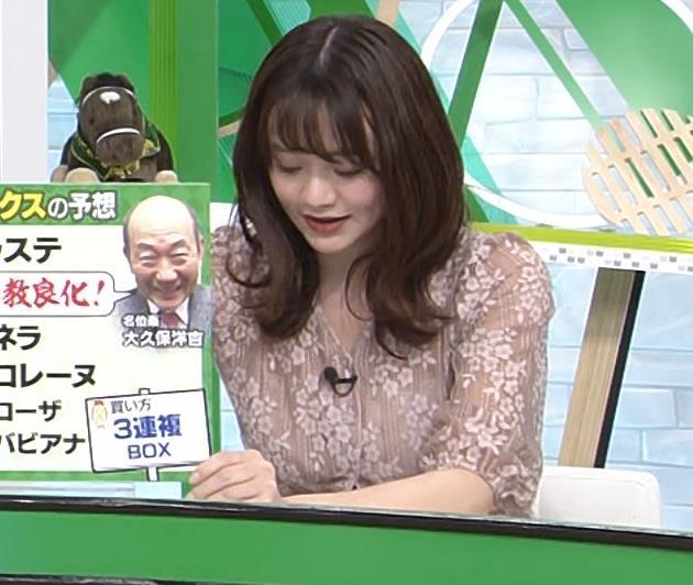 森香澄アナ おっぱいクッキリエロ衣装キャプ・エロ画像11