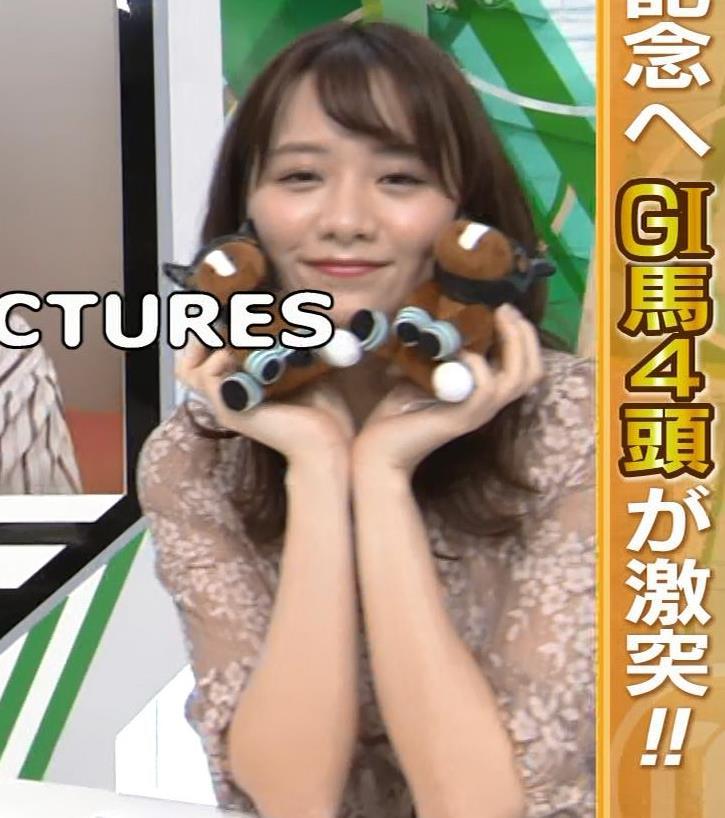 森香澄アナ おっぱいクッキリエロ衣装キャプ・エロ画像6