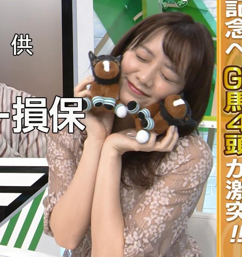 森香澄アナ おっぱいクッキリエロ衣装キャプ・エロ画像7