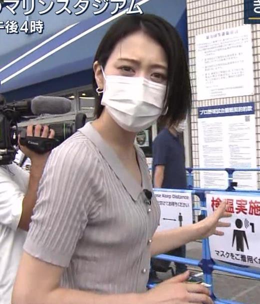 森葉子アナ ピチピチな服でカラダのラインがでててエロいキャプ画像(エロ・アイコラ画像)