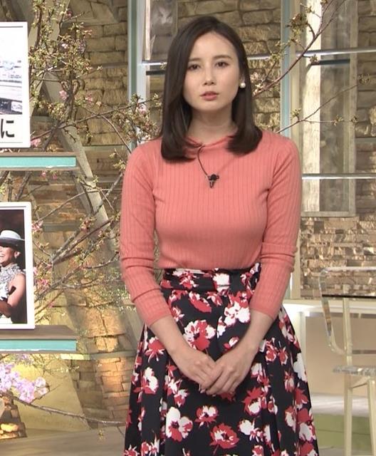 森川夕貴アナ 太った?巨乳が目立つキャプ・エロ画像