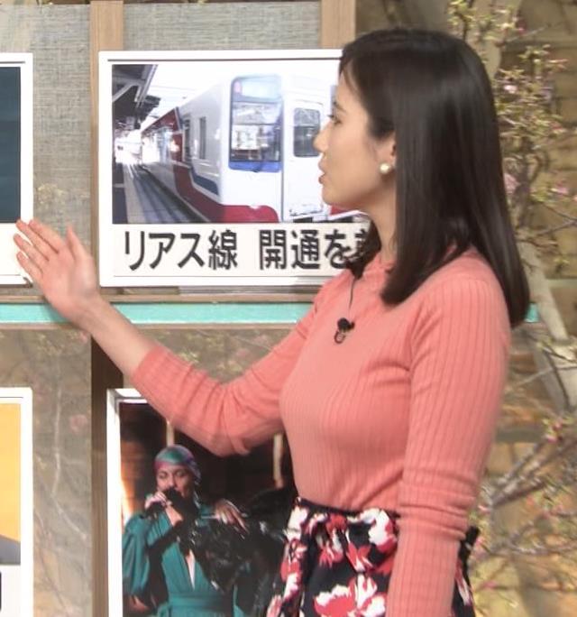 森川夕貴アナ 太った?巨乳が目立つキャプ・エロ画像3