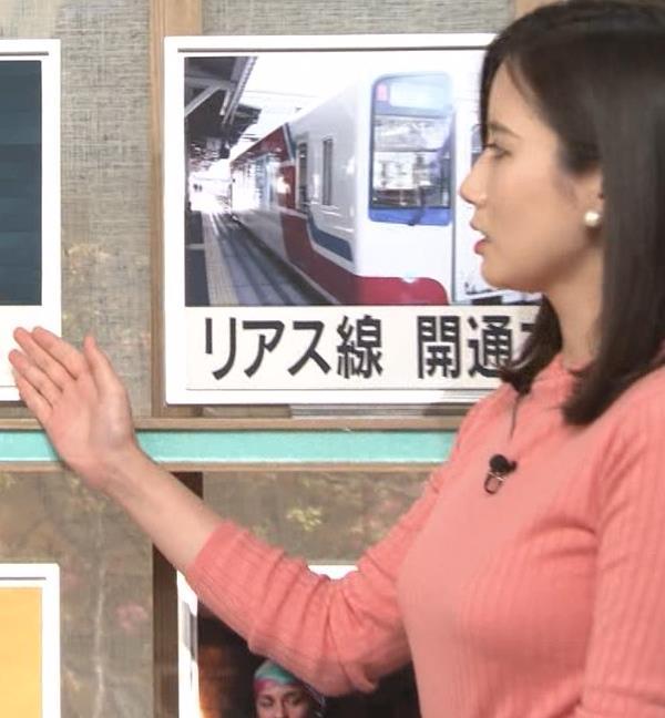 森川夕貴アナ 太った?巨乳が目立つキャプ・エロ画像4