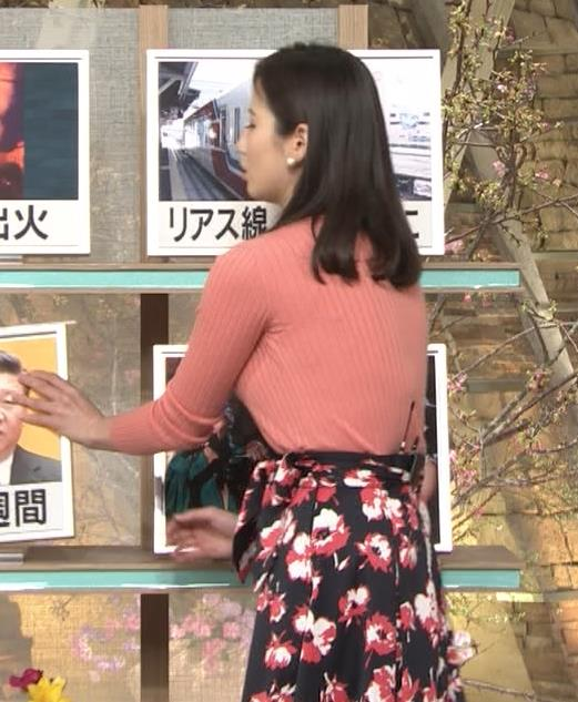 森川夕貴アナ 太った?巨乳が目立つキャプ・エロ画像5