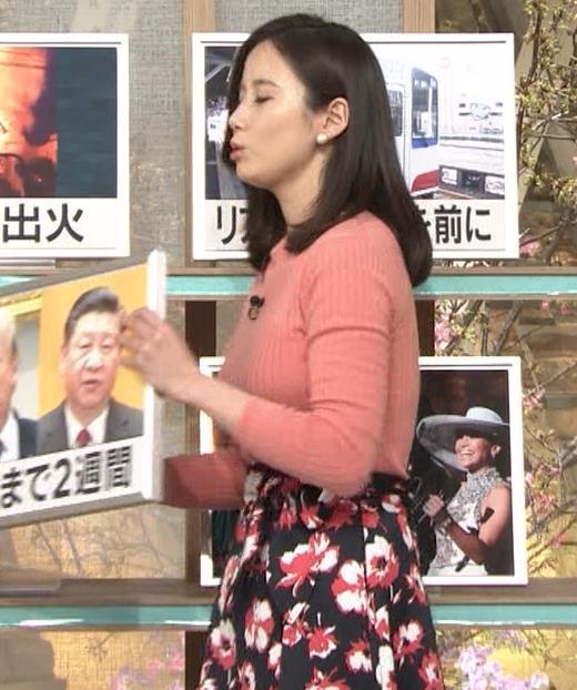森川夕貴アナ 太った?巨乳が目立つキャプ・エロ画像6