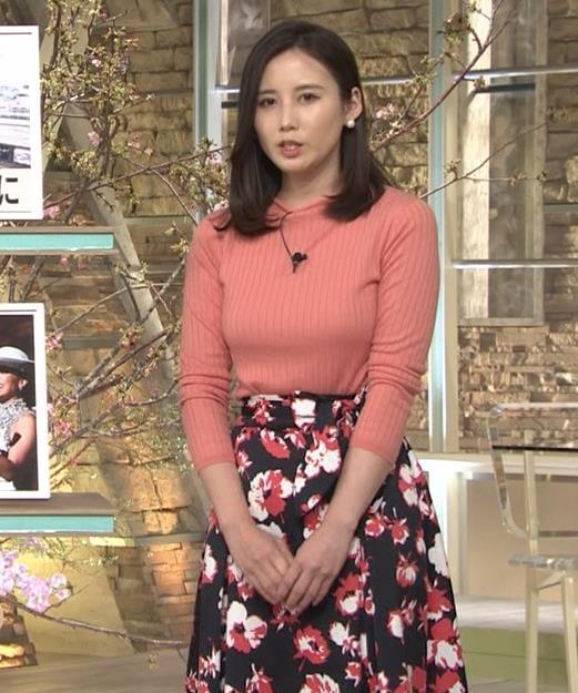 森川夕貴アナ 太った?巨乳が目立つキャプ・エロ画像7