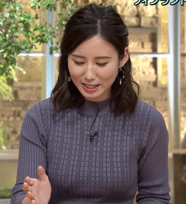 森川夕貴アナ クッキリおっぱいのニットキャプ・エロ画像3