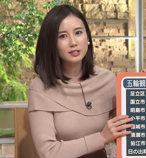 森川夕貴アナ クッキリおっぱいのニットキャプ・エロ画像9