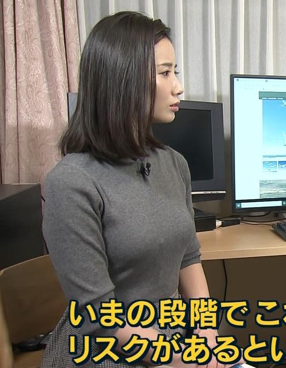森川夕貴アナ この服エロいキャプ・エロ画像3