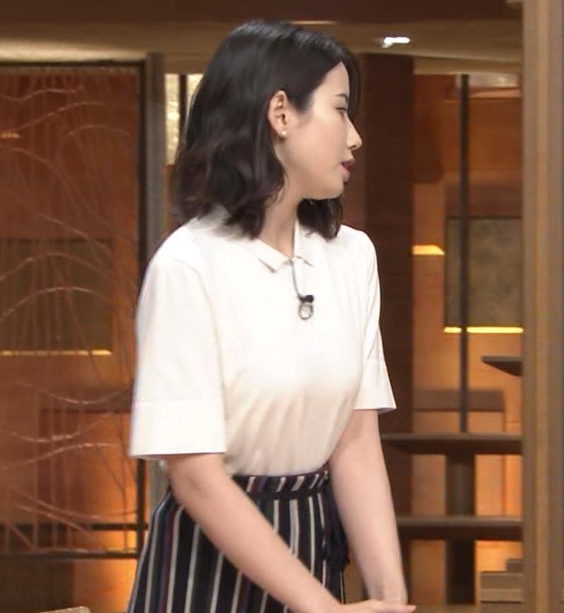 森川夕貴アナ 巨乳が目立ってたよキャプ・エロ画像