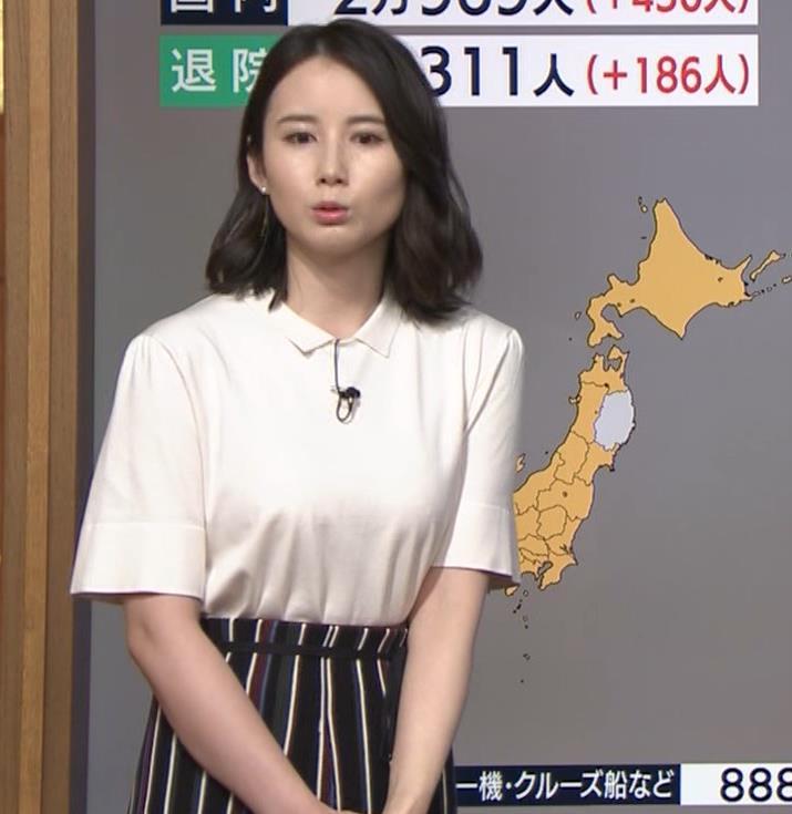 森川夕貴アナ 巨乳が目立ってたよキャプ・エロ画像3