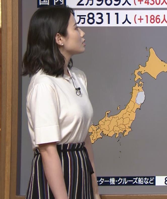 森川夕貴アナ 巨乳が目立ってたよキャプ・エロ画像4