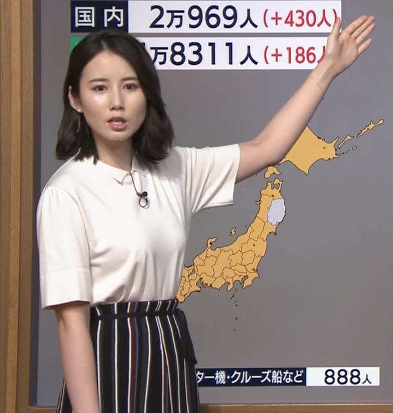 森川夕貴アナ 巨乳が目立ってたよキャプ・エロ画像5