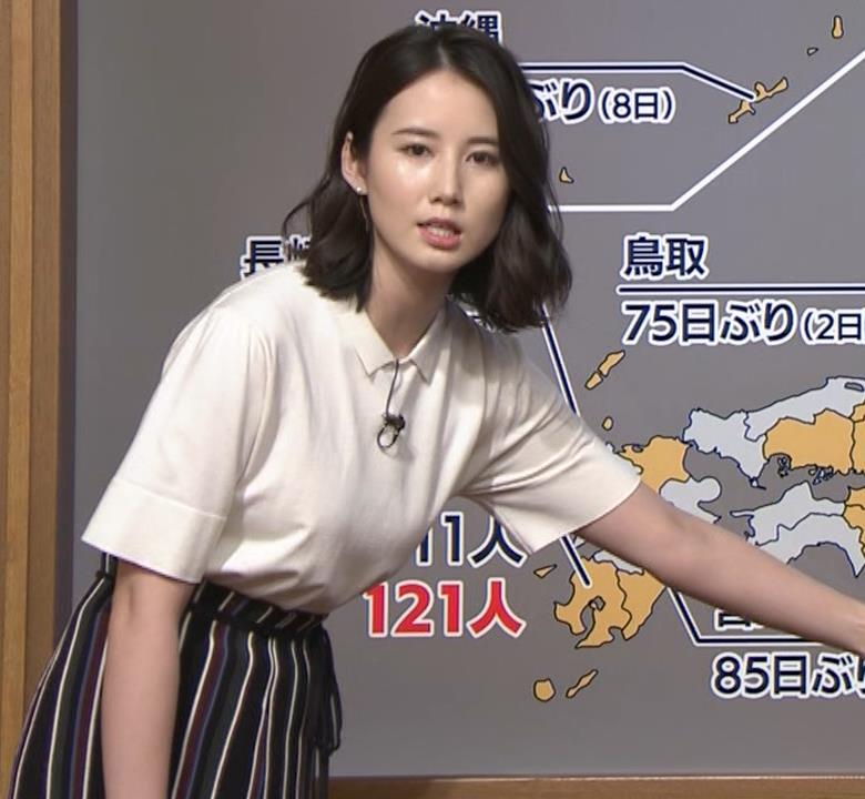 森川夕貴アナ 巨乳が目立ってたよキャプ・エロ画像6