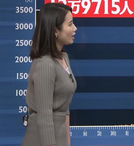 森川夕貴アナ おっぱいが際立つキャプ画像(エロ・アイコラ画像)