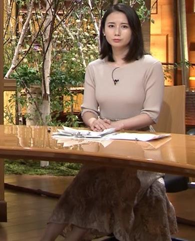 森川夕貴アナ 巨乳ニットがエロ過ぎるキャプ・エロ画像2