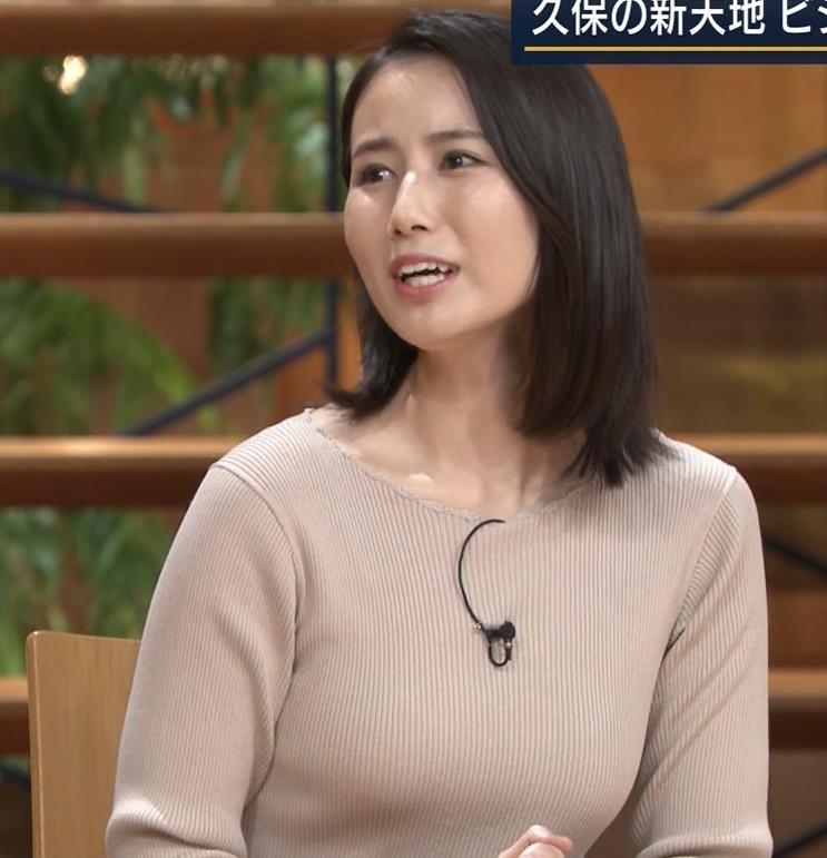 森川夕貴アナ 巨乳ニットがエロ過ぎるキャプ・エロ画像11