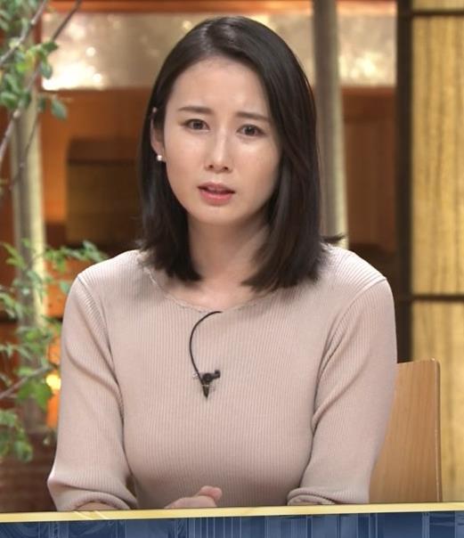 森川夕貴アナ 巨乳ニットがエロ過ぎるキャプ・エロ画像8