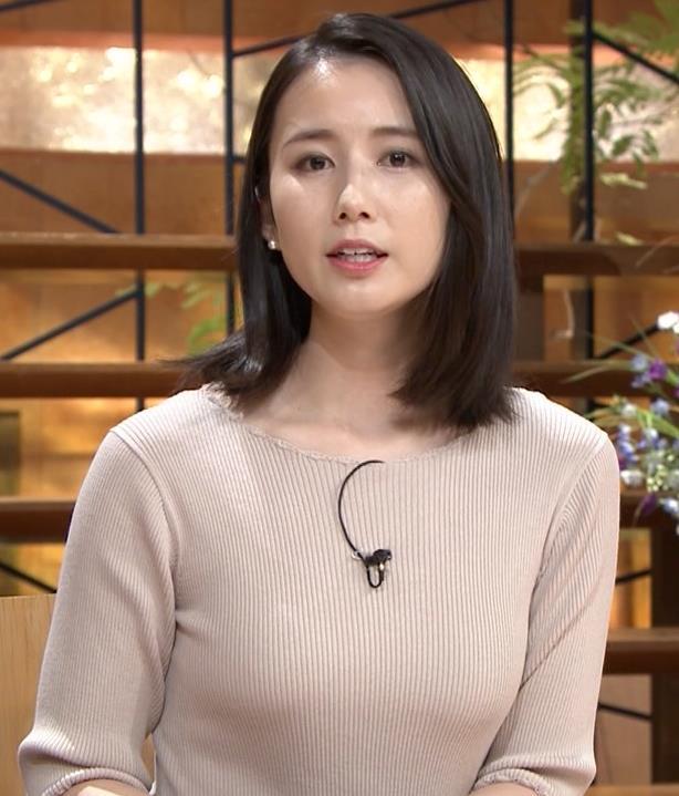 森川夕貴アナ 巨乳ニットがエロ過ぎるキャプ・エロ画像10