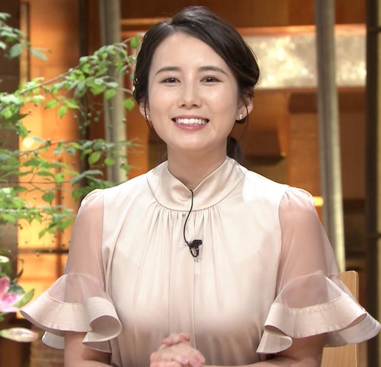 森川夕貴アナ 連日の巨乳エロキャプ・エロ画像12
