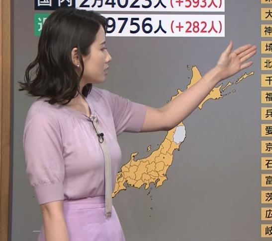森川夕貴アナ 連日の巨乳エロキャプ・エロ画像3
