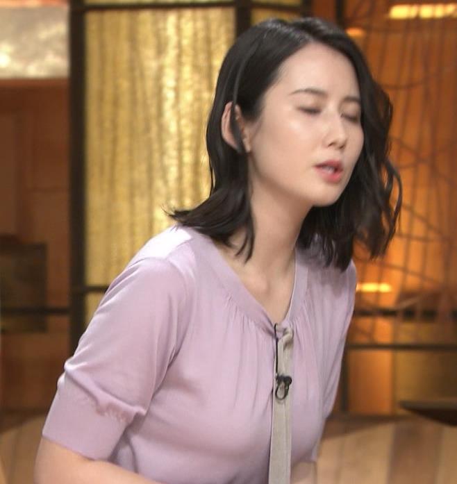 森川夕貴アナ 連日の巨乳エロキャプ・エロ画像4