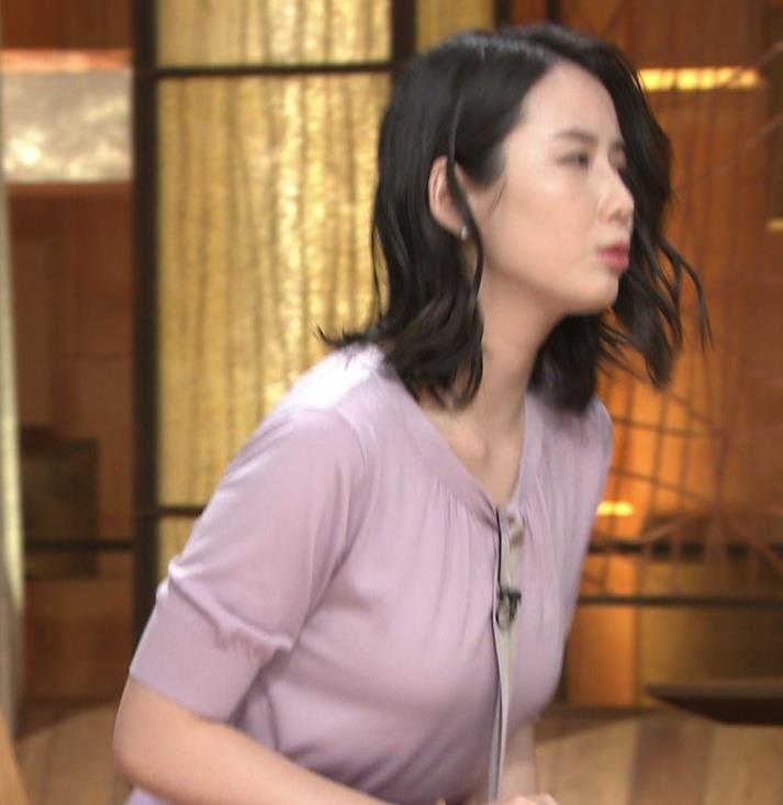 森川夕貴アナ 連日の巨乳エロキャプ・エロ画像5