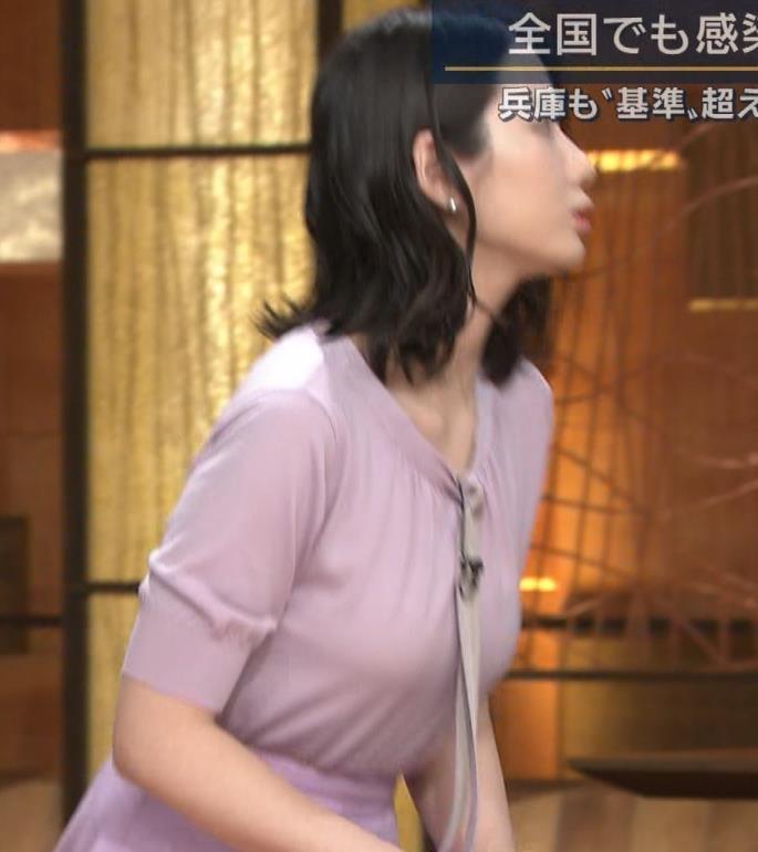 森川夕貴アナ 連日の巨乳エロキャプ・エロ画像6