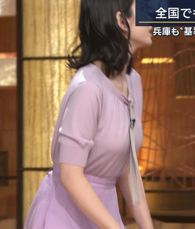 森川夕貴アナ 連日の巨乳エロキャプ・エロ画像7