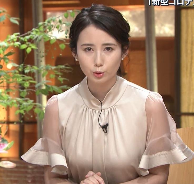 森川夕貴アナ 連日の巨乳エロキャプ・エロ画像9