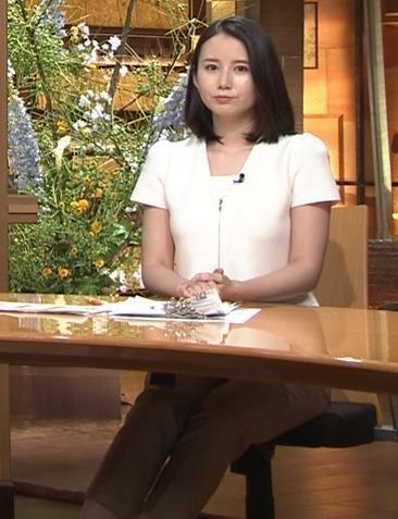 森川夕貴アナ お尻もエロいパンツスタイルキャプ・エロ画像