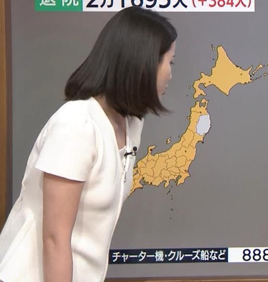 森川夕貴アナ お尻もエロいパンツスタイルキャプ・エロ画像2