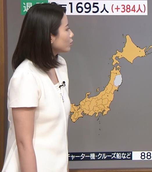 森川夕貴アナ お尻もエロいパンツスタイルキャプ・エロ画像3