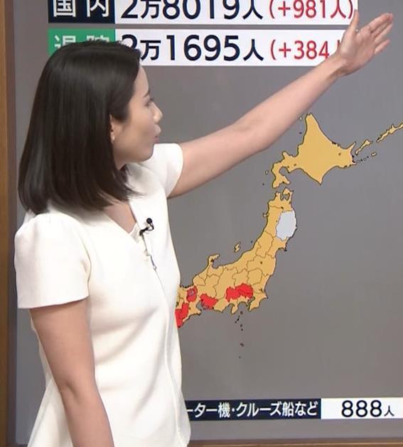 森川夕貴アナ お尻もエロいパンツスタイルキャプ・エロ画像4