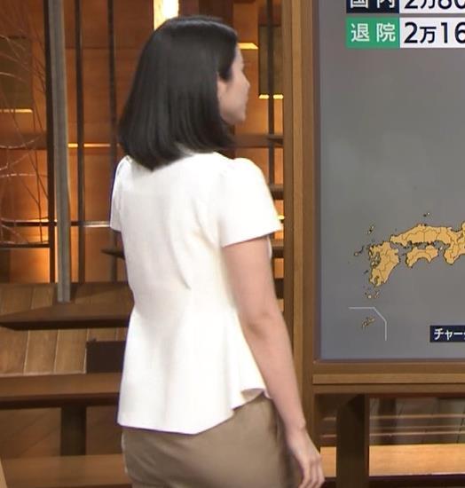 森川夕貴アナ お尻もエロいパンツスタイルキャプ・エロ画像7