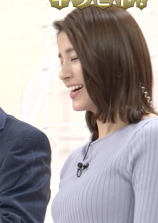 永島優美アナ ニットおっぱいキャプ・エロ画像7